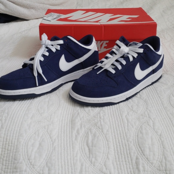 dfcca70d362 Nike Dunk Low blue white size 9. New in box.